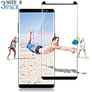 3D Curved Tempered [Anti-Bubble][9H Hardness][HD Clear][Anti-Scratch][Case Friendly] Glass Screen Film Compatible 44MM 03.12