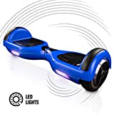 ACBK - Patinete Eléctrico Hover Autoequilibrio Basic con Ruedas de 6.5' + Luces LED integradas, Velocidad máxima:...