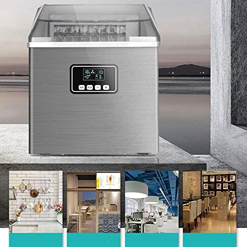 51n0dQNaqeL - SEESEE.U Eismaschine, quadratische Eiswürfel in 12-20 Minuten fertig, 25 kg EIS in 24 Stunden herstellen, tragbare kleine Eiswürfelbereiter für Arbeitsplatte Home Bar Perfekt für Partys Mixgetränke