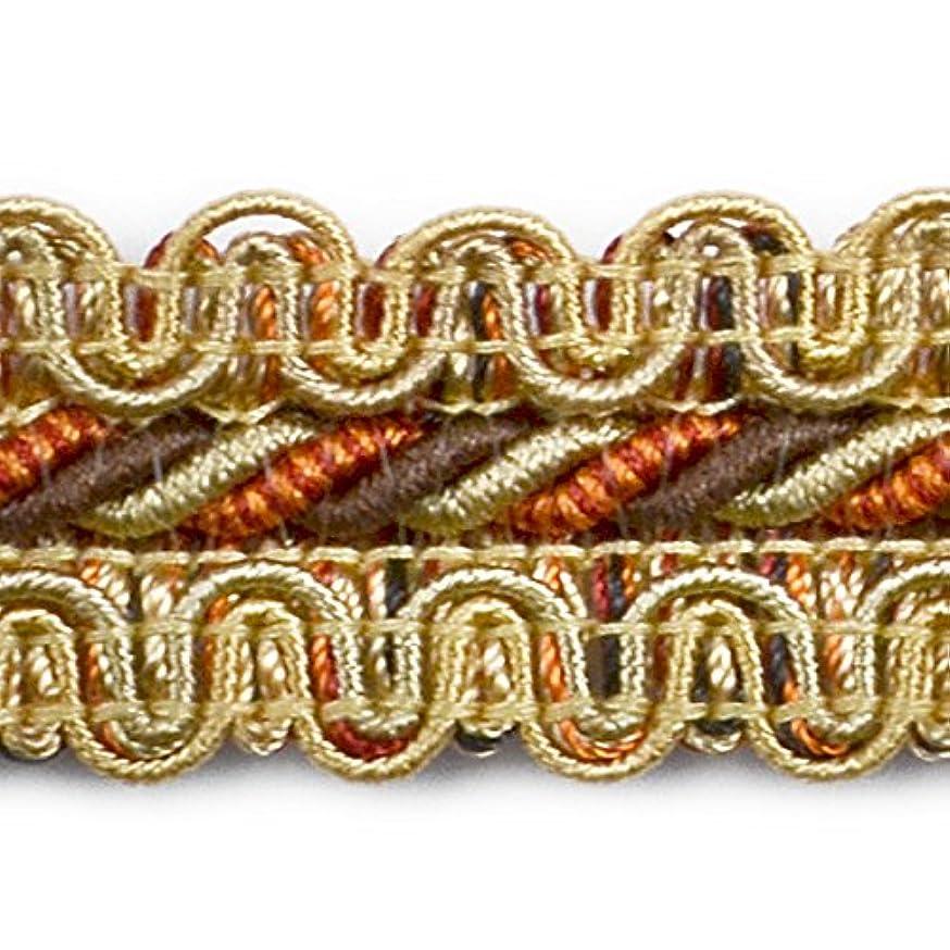 Expo International Camile Twisted Cord Braid Trim Embellishment, 20-Yard, Gold
