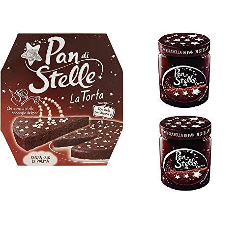 Set Pan Di Stelle con 2 barattolo di crema spalmabile +...