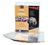 HushMat 10201 Ultra Silver Foil Door Kit with Damping Pad - 10 Piece