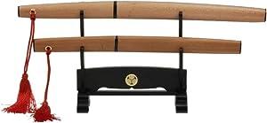 "Mini Japanese Samurai/Ninja Sword Letter Opener,8""&6.7"" with Stand,310-MAMETACHI"