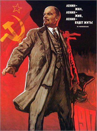 Hartschaumbild 50 x 70 cm: Communist Poster, 1967. von Viktor Ivanov/Granger Collection