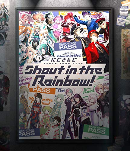 【Amazon.co.jp限定】JAPAN TOUR 2020 Shout in the Rainbow! (A5マウスパッド付) [Blu-ray]