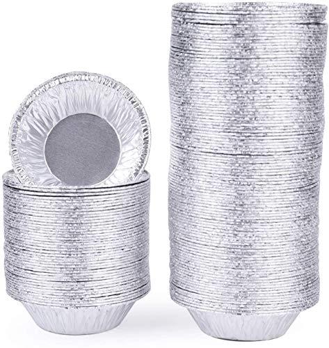 Bekith - Confezione da 500 teglie usa e getta, in alluminio, per cuocere, conservare e riscaldare