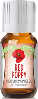 Red Poppy Scented Oil by Good Essential (Premium Grade Fragrance Oil) - Perfect for Aromatherapy, Soaps, Candles, Slime, Lotions, and More!