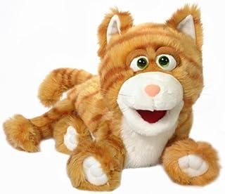 Silly Kitty Puppet (Orange)