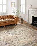 Loloi II Hathaway Collection HTH-07 Multi / Ivory, Traditional Area Rug, 7'-6' x 9'-6'