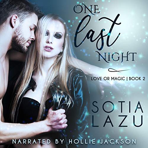 One Last Night audiobook cover art