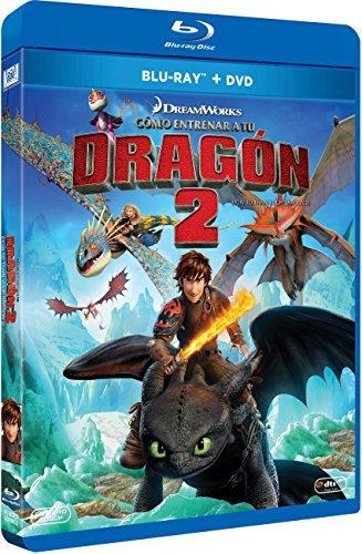 Cómo Entrenar A Tu Dragón 2 (BD + DVD) [Blu-ray]