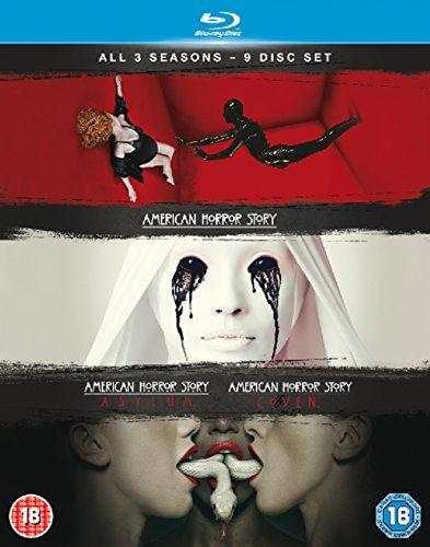 American Horror Story (Season 1-3) - 9-Disc Box Set ( Season One - Murder House / Season Two - Asylum / Season Three - Coven ) [ Origen UK, Ningun Idioma Espanol ] (Blu-Ray)