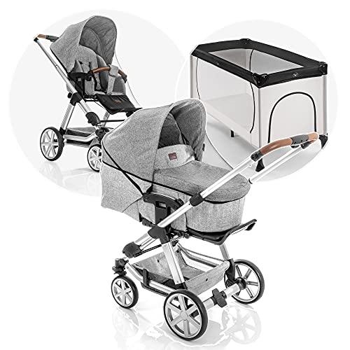 Reer Universal Insektenschutz, passend für Kinderwagen, Buggys, Sportwagen, Reisebetten, schwarz, 74857
