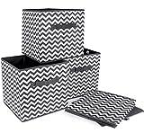 ilauke 4pcs Cube de Rangement Pliable Boîtes de Rangement...