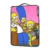 Simpsons - Bolsa de hombro para ordenador portátil con gran capacidad de 13 14 15,6 pulgadas