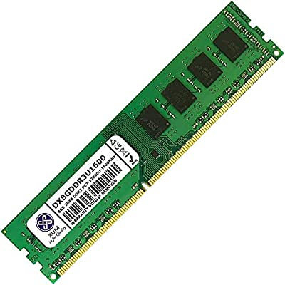 XUM 8GB (1x8GB) DDR3 1600MHz PC3-12800 Non-ECC Unbuffered 1.5V CL11 240 Pin DIMM Desktop Computer PC Memory RAM