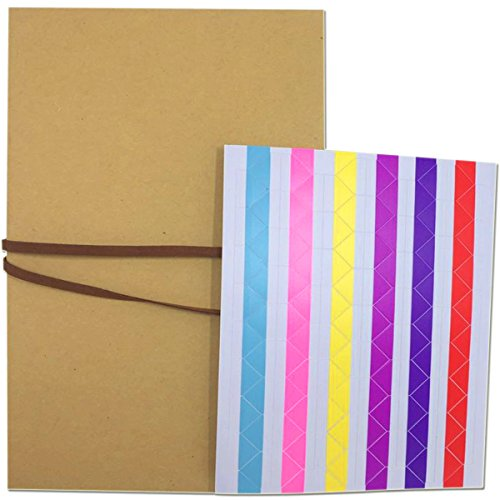 Misscrafts Scrapbook Album DIY Hardcover Photo Album Kraft Scrapbooking Albums Wedding