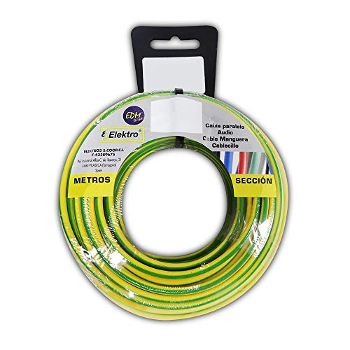 Enrollacables de Instalación eléctrica marca EDM para bicolor (multicolor)