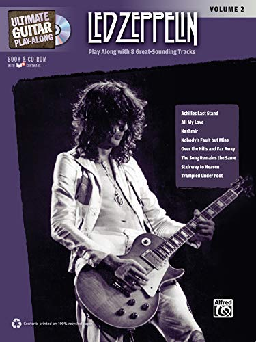 Ultimate Guitar Play-Along: Led Zeppelin, Volume 2 - Play Along with 8 Great-Sounding Tracks (incl. 2 CDs)