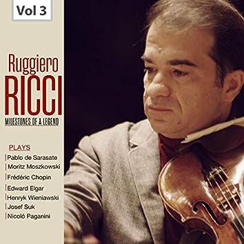 Milestones of a Legend: Ruggiero Ricci, Vol. 3