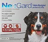 NexGard Antipulgas e Carrapatos para Cães de 25,1 a 50kg 1 tablete