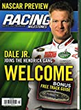 Racing Milestones NASCAR PREVIEW America's Race Fan Magazine March 2008 DALE EARNHARDT JR IS NOW IN THE HENDRICK MOTORSPORTS #88 CHEVROLET Kyle Busch JOE GIBBS Tony Stewart DANNY