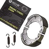 NICHE Brake Shoe For Yamaha V Star 650 Virago 750 535 700 920 TX750 Maxim Seca 3DR-W253E-00-00 Rear