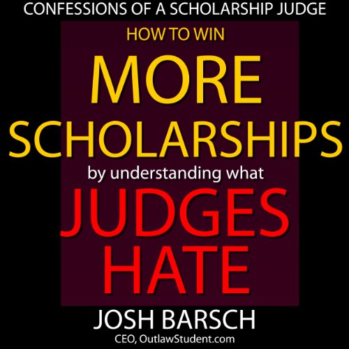Confessions of a Scholarship Judge audiobook cover art
