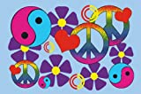 Fun Rugs Lovely Peace Childrens Rug, 19-Inch by 29-Inch