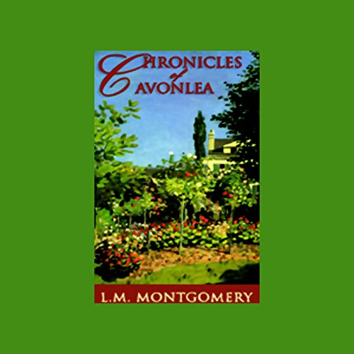 Chronicles of Avonlea audiobook cover art