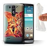 Phone Case for LG G3 Mini S/D722 Geometric Animal Wildlife