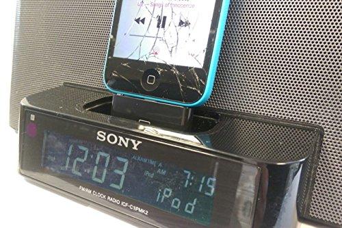 Blitzadapter für iPhone 5/ 5c an eine Sony Lautsprecherstation Dream Machine ICF-C1iP