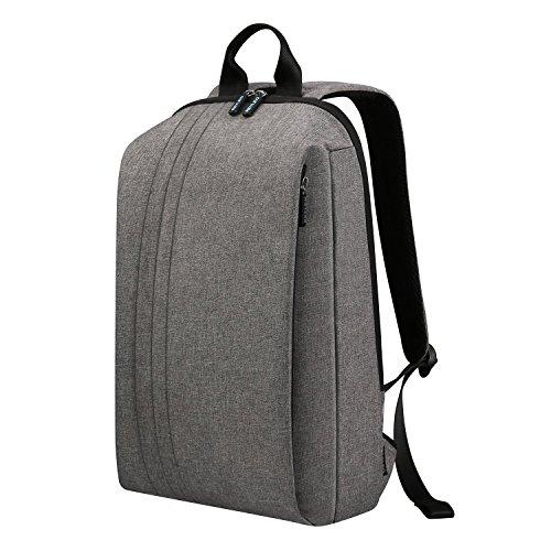 REYLEO Zaino Casual Impermeabile per l'ufficio e la scuola Backpack Laptop e Computer per uomo e donna da 13 L ( Grigio )