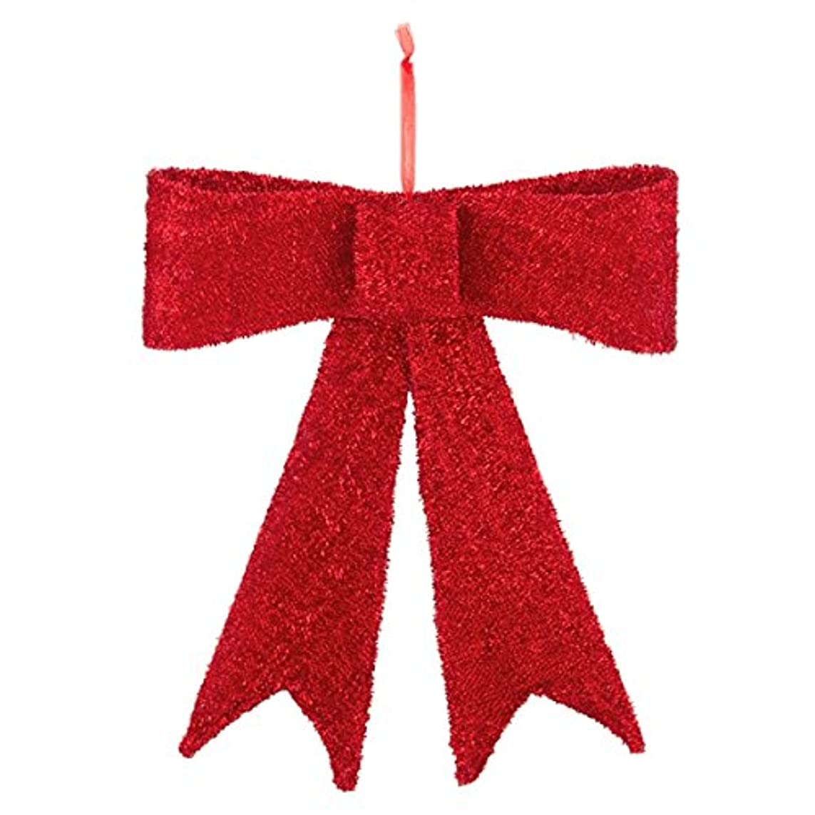 盗難顕著たくさんのラージティンゼルリボン(M)(RBN1012M)[クリスマス デコレーション 飾り オーナメント ラージティンゼルリボン リボン 屋外対応]