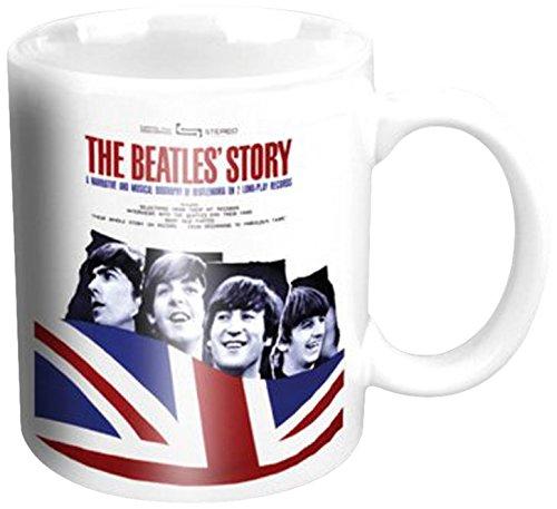 Empire Merchandising 696281 uS The Beatles Album The Beatles Story Mini Tasse à café en céramique 5,5 h6,7