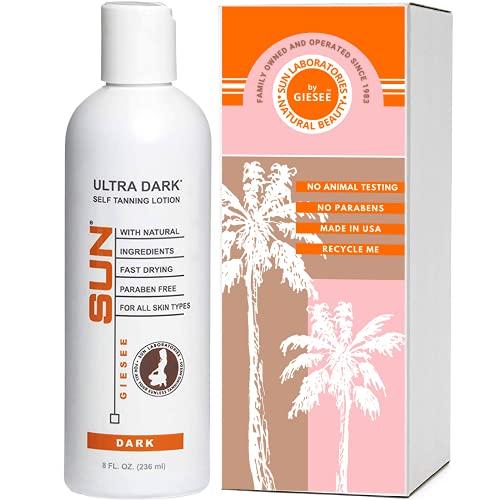 Sun Laboratories Sunless Tanning Lotion Dark Tone and Self Bronzer