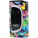 MightySkins Skin Compatible with Sigelei KAOS Spectrum Kit – Butterfly Party | Protective, Durable, and Unique Vinyl Decal wrap Cover | Easy to Apply, Remove, and Change Styles | Made in The USA