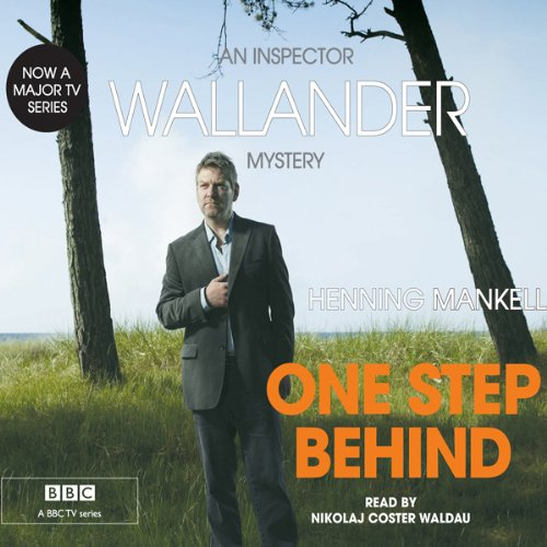 One Step Behind audiobook cover art