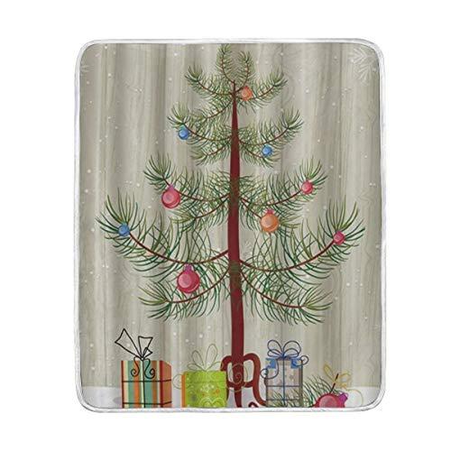 TARTINY Caja Regalo Debajo Copo Nieve árbol Navidad—130x150cm