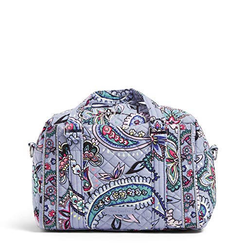 MACHINE WASHABLE SIGNATURE COTTON -- The fabric you know & love, our quilted cotton is lightweight yet durable, & comes in a variety of colorful patterns CUSTOM FIT -- With a 51 inch adjustable strap & 5 inch handle drop, you decide how your bag fits...