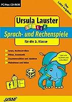 Sprach- und Rechenspiele für die 2. Klasse. CD-ROM für Windows, Mac: Lesen, Rechtschreiben / Diktat, Grammatik / Zusammenzählen und Abziehen / Malnehmen, Teilen