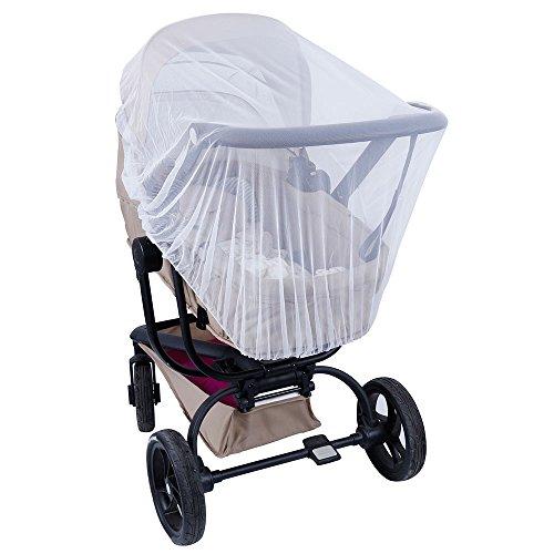 lictin Moskitonetz für Kinderwagen Baby; Universal; 1-2 años Weiß