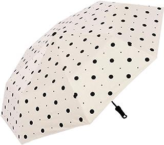 JOYS CLOTHING 女性の雨と雨の兼用サンシェード3つ折り傘UV保護日焼け防止太陽三つ折り傘