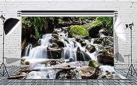 HD自然の風景の背景山の川の背景木の石の装飾写真の背景壁の写真の背景10x7ftFSLF018