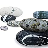 Roner Large Stuffed Rocks Stone Pebble Living Pillows Floor Cushions Home Decoration Throw Pillows Mix Color 7pcs