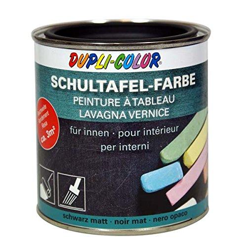 Dupli Color 368103, Vernice per Lavagna Scolastica, 375 ml, Colore: Nero