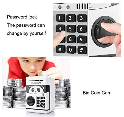 Jhua Cartoon Electronic Password Piggy Bank Cash Coin Can
