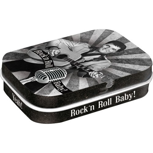 Nostalgic-Art 81275 Celebrities - The King - Rock'n Roll Baby, Pillendose