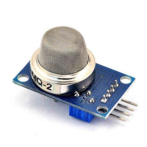 J-Deal MQ2 DC 5V Propane Ethanol i-Butane Methane Alcohol Gas Sensor Detection Module for Arduino
