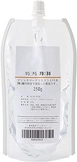 ファンタジーグリセリン(VG)、プロピレングリコール(PG)ミックス品 (混合比VG70:PG30(250g))